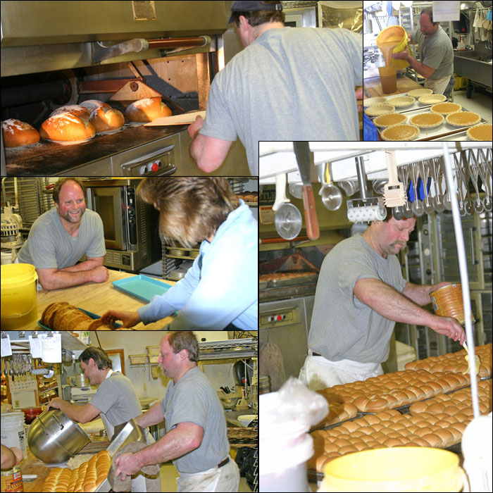 Bakery Collage with Frank